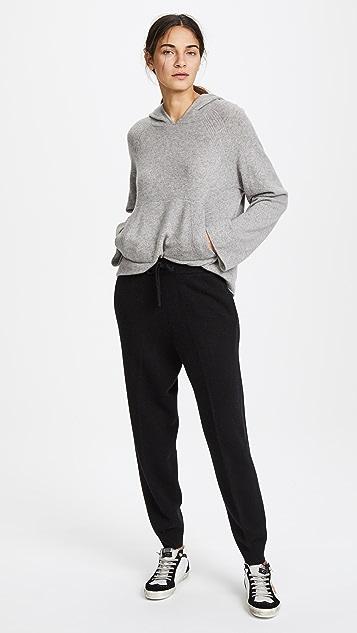 TSE Cashmere Drawstring Cashmere Jogger Pants