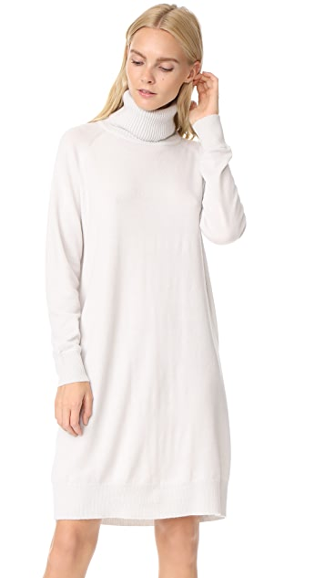 TSE Cashmere Mock Neck Tunic Dress