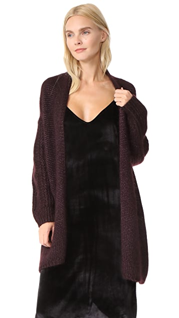 TSE Cashmere Long Sleeve Cardigan