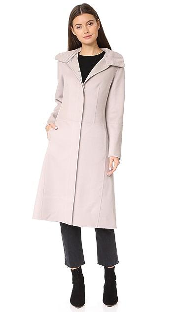 TSE Cashmere Midi Coat
