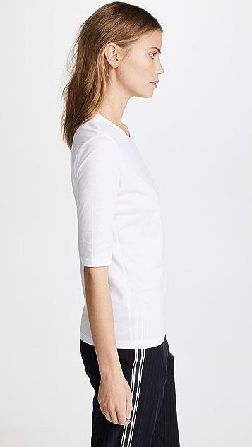TSE Cashmere 中袖 T 恤