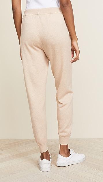 TSE Cashmere Cropped Jogger Pants