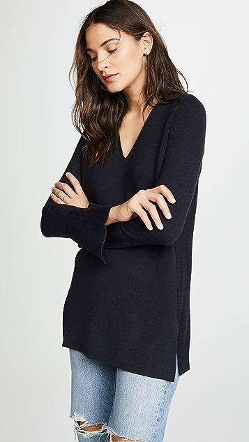 Tse Cashmere V Neck Sweater