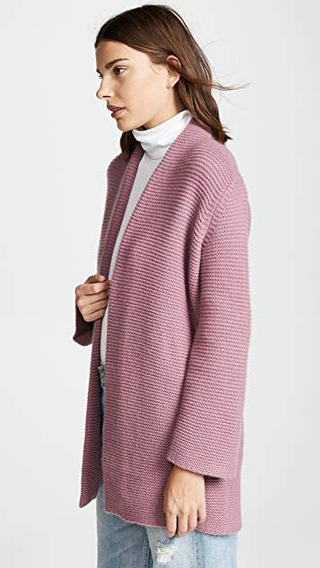 TSE Cashmere Chunky Cashmere Robe Cardigan with Belt