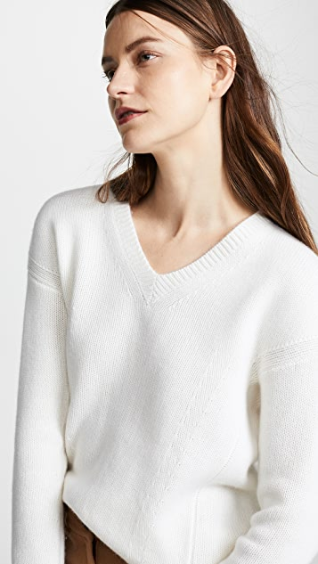 TSE Cashmere Cocoon Back Cashmere Sweater