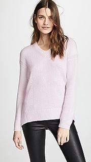 TSE Cashmere Cashmere Cocoon Back V Neck Sweater