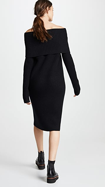 TSE Cashmere OTS Sweater Dress