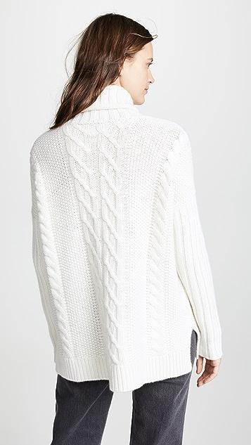 TSE Cashmere Cashmere Poncho Sweater