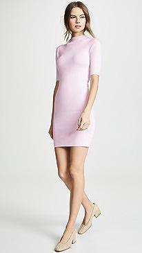 Cashmere Mini Sweater Dress