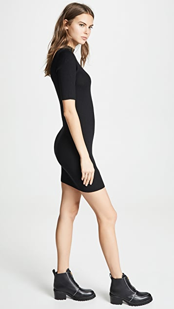 TSE Cashmere Cashmere Mini Sweater Dress
