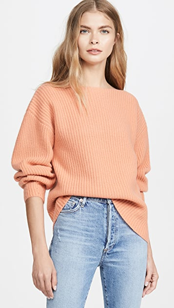 Cashmere Rib Sweater by Tse Cashmere