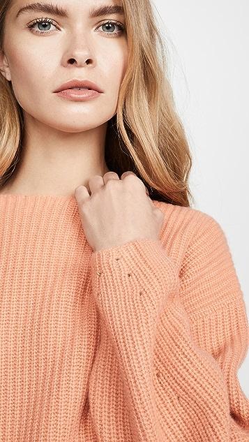 TSE Cashmere Cashmere Rib Sweater