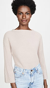 Stepped Rib Sweater