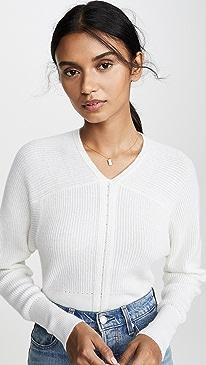 Braided Rib Dolman Sweater