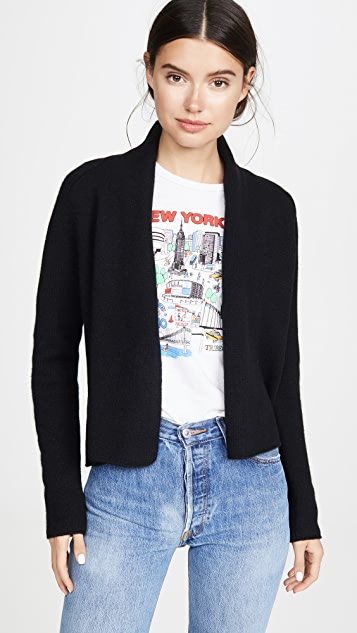 Cropped Cardigan by Tse Cashmere