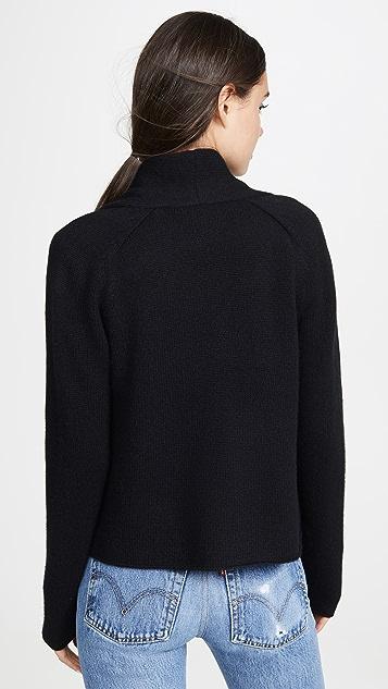 TSE Cashmere 短款开襟衫