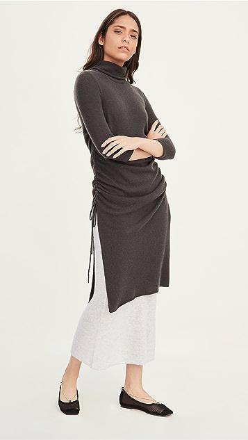 TSE Cashmere Layered Cashmere Dress