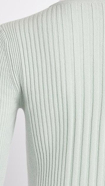 TSE Cashmere Cashmere Ribbed Pullover