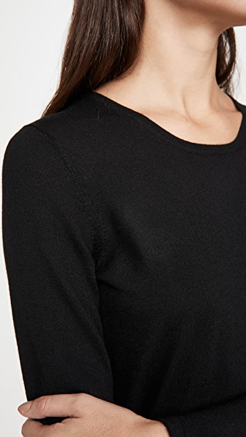 TSE Cashmere Superfine Cashmere Crew Neck Top