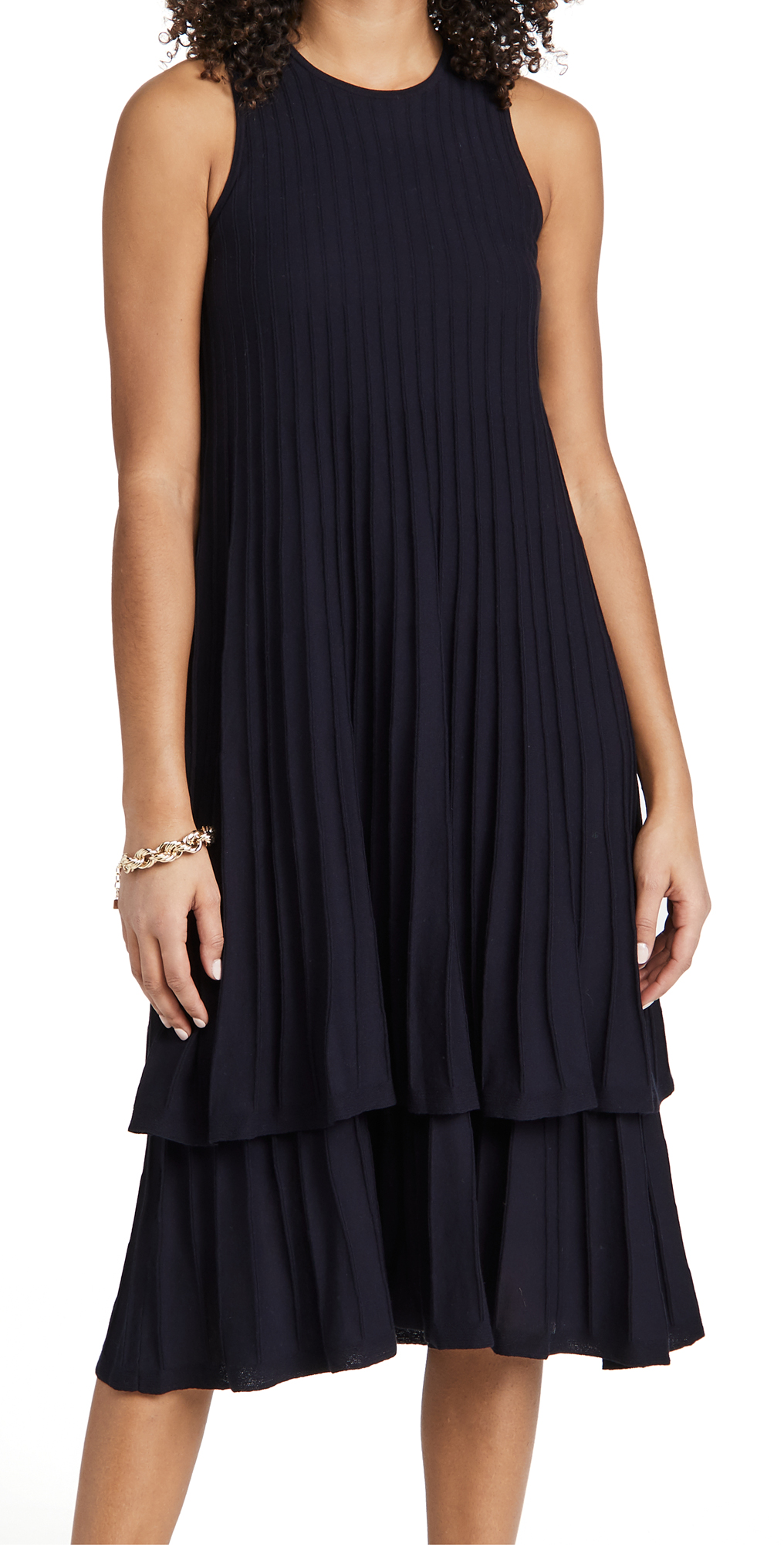 TSE Cashmere Cotton Swing Dress