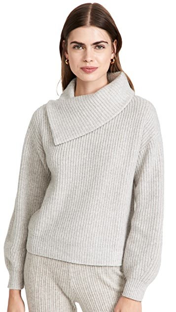 TSE Cashmere Luxe Chunky Rib Cashmere Sweater