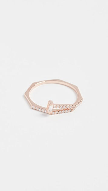 Tana Chung 18k Rose Gold Lilliput Ring