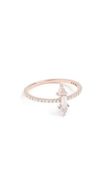 Tana Chung 18k Rose Gold Veracity Ring