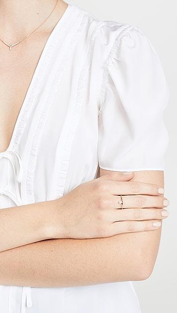 Tana Chung 18k Rose Gold Lilliput Pearl Ring