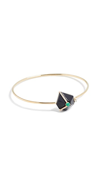Tana Chung 18k Gold Cuore Bracelet