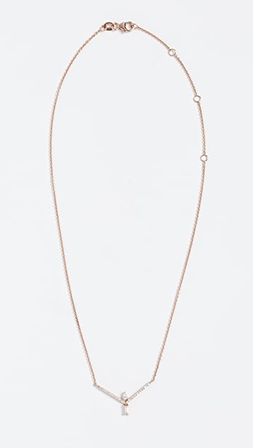 Tana Chung 18k Rose Gold Veracity Necklace