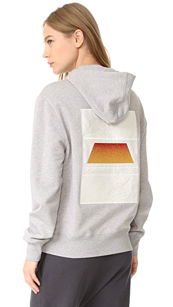 Tim Coppens Embroidered Boy Hoodie