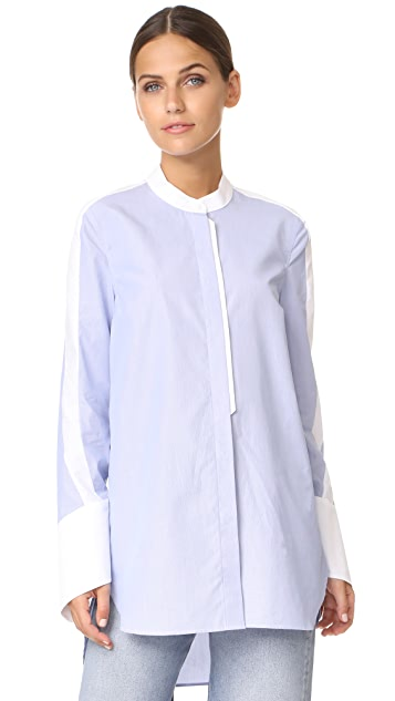 Tim Coppens Band Collar Shirt