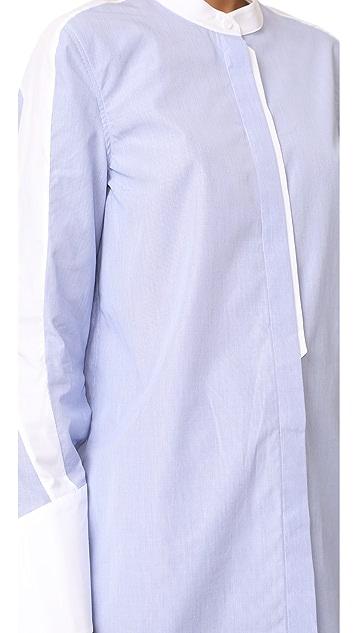 Tim Coppens Band Collar Shirt