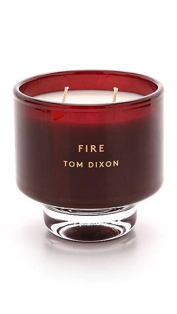Tom Dixon Ароматическая свеча Fire среднего размера