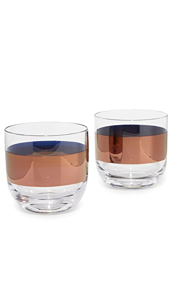 Tom Dixon Tank Whisky Glasses