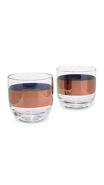 Tom Dixon Tank Whisky Glasses