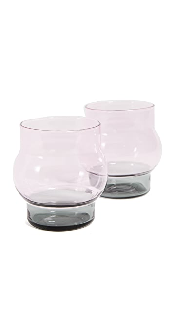 Tom Dixon Bump Short Glass Set