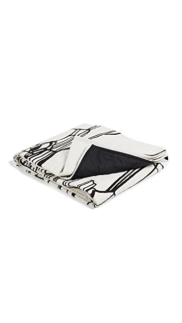 Tom Dixon Geo Throw Blanket