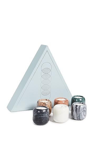 Tom Dixon Stone Candle Gift Set