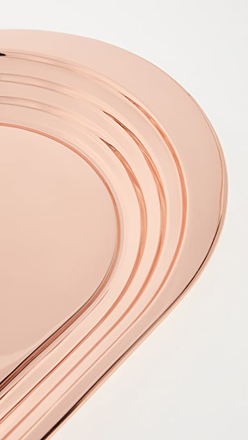 Tom Dixon Copper Plated Plum Tray