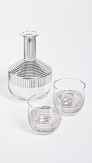 Tom Dixon Platinum Stripe Tank Whiskey Set