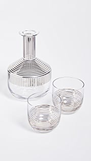 Tom Dixon Platinum Stripe Tank Whiskey Set