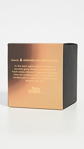 Tom Dixon Medium Underground Scented Candle