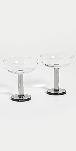 Tom Dixon - Puck Coupe Glass Set of 2
