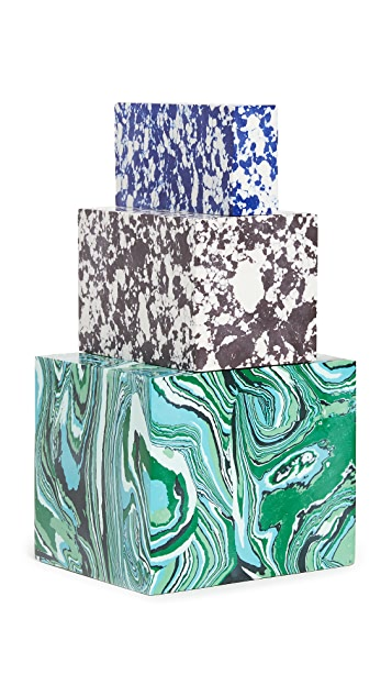 Tom Dixon Swirl Stack Candle