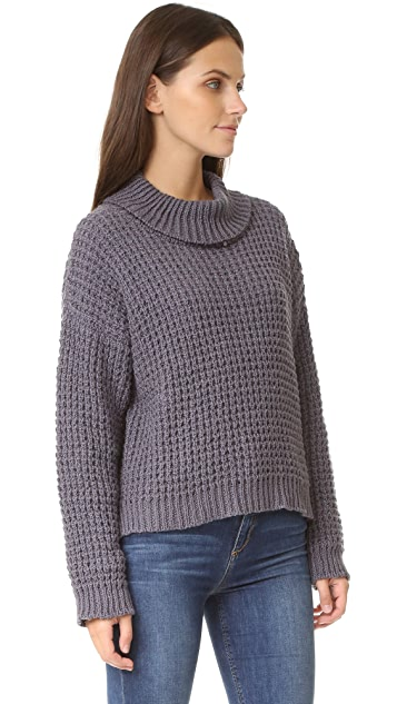 Tejido Waffle Pullover