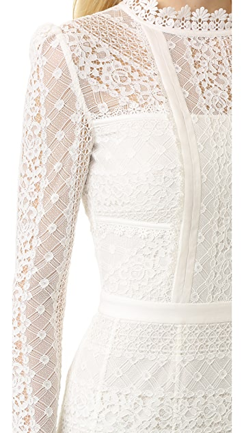 Temperley London Desdemona Lace Dress