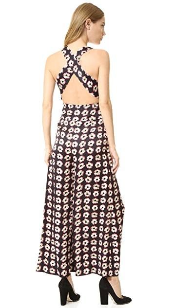 Temperley London Clarion Print Jumpsuit