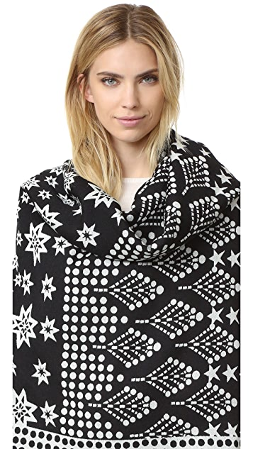 Temperley London Stellar Blanket Scarf