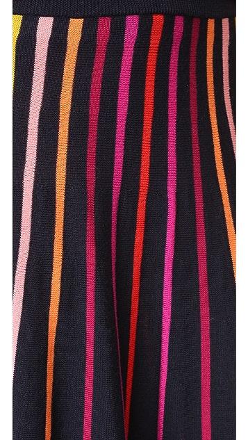 Temperley London Midi Panorama Skirt